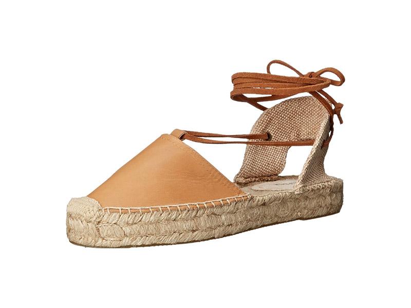 Soludos Platform Gladiator Sandal Leather Platform Sandal