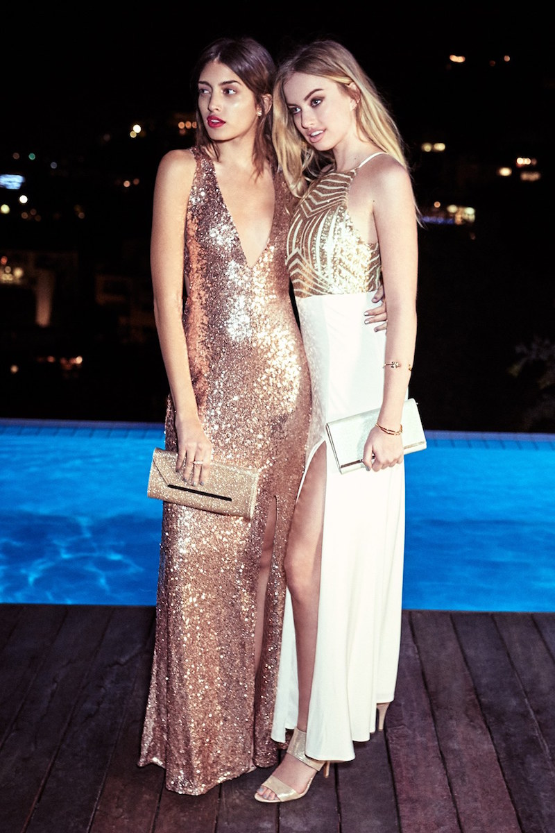Steppin Out Sequin Halter Gown_1