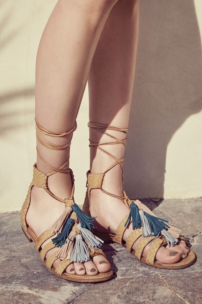 Steve Madden Monrowe Tassel Sandal