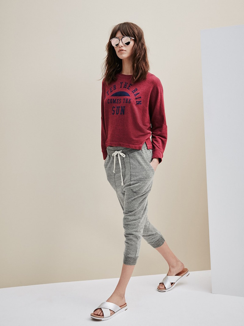 Sundry The Sun Graphic Pullover