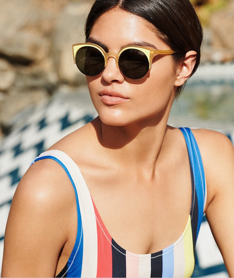 Super Sunglasses Lucia Surface Sunglasses