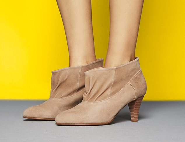 The Shoe Shop Spring Booties at MyHabit