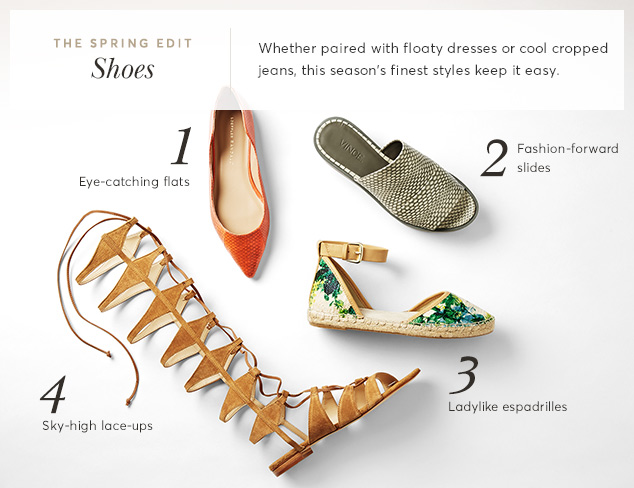 The Spring Edit Shoes at MyHabit