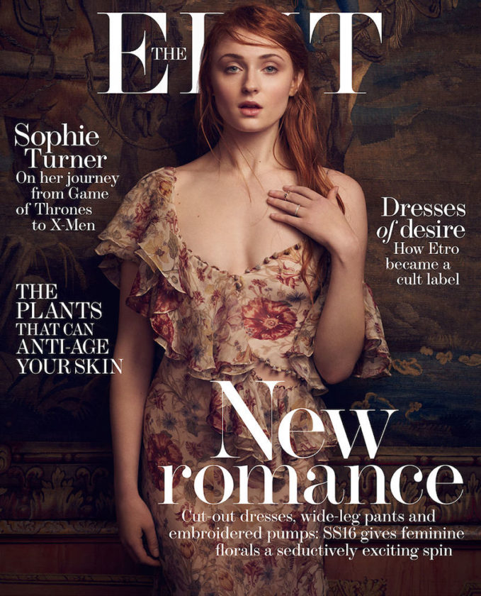 The Woman Within: Sophie Turner for The EDIT