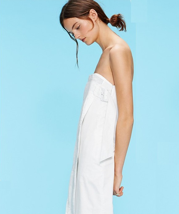 Tibi Manuella Strapless Dress-