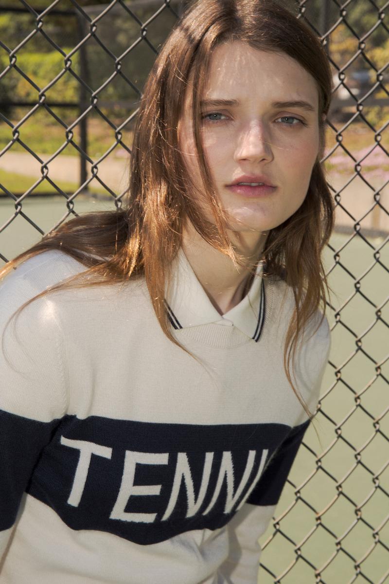 Tory Sport Performance Tennis Sweater
