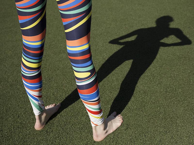 Tory Sport Splash Leggings
