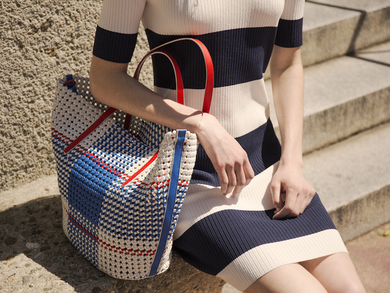 Tory Sport Woven Tote
