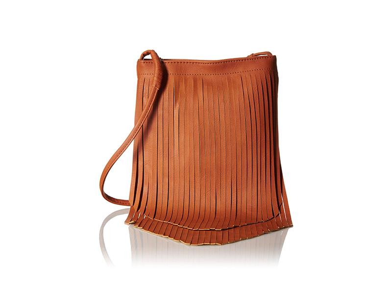 Twig & Arrow Fringe Crossbody Messenger Bag