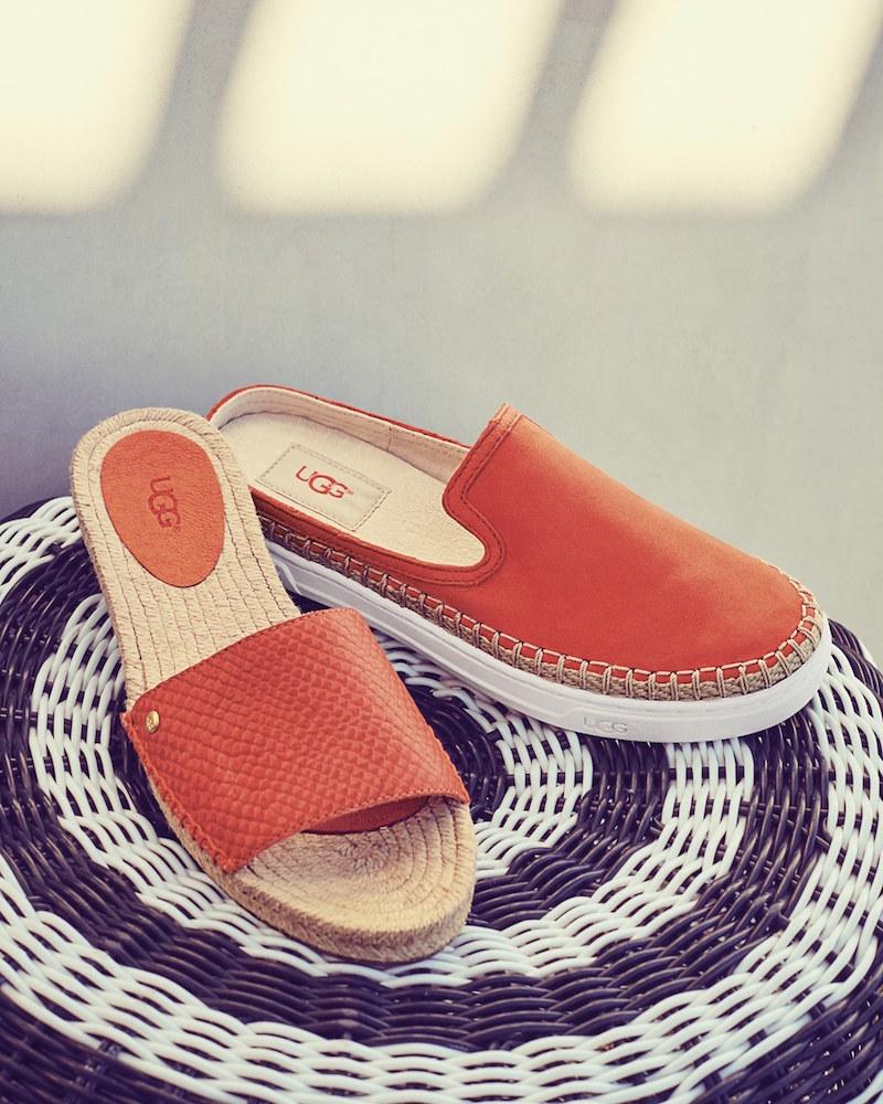 UGG Cherry Exotic Slide Sandal