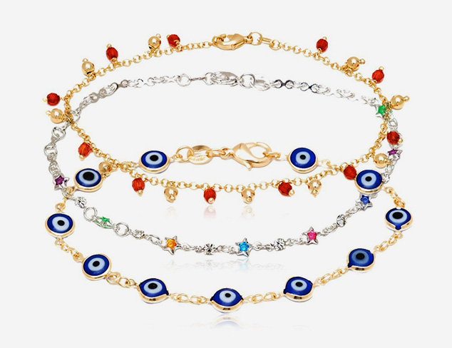 Up to 80 Off The Art of the Anklet at MyHabit