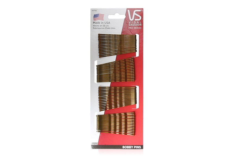 Vidal Sassoon Bobby Pins, Brown