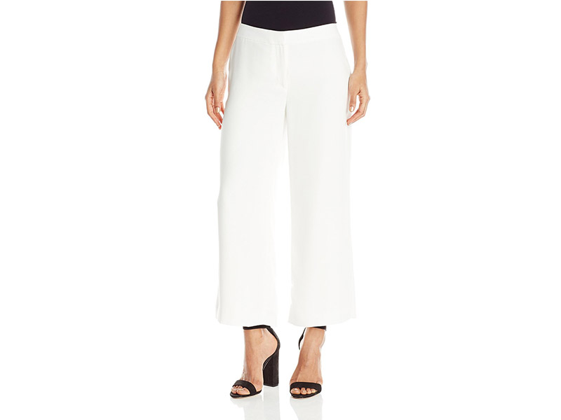 Vince Camuto Front Zip Culottes Lined