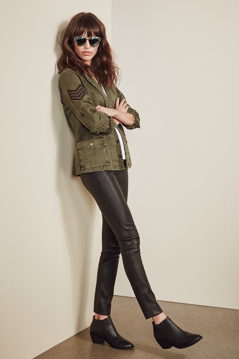 Zadig & Voltaire Military Patch Blazer