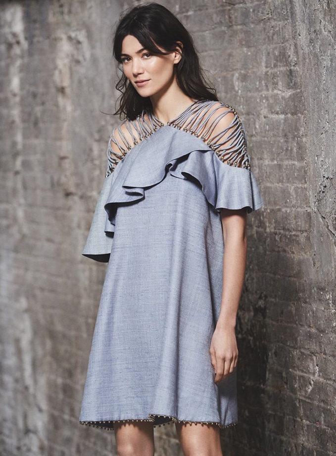 Zimmermann Havoc Lattice Flounce Dress