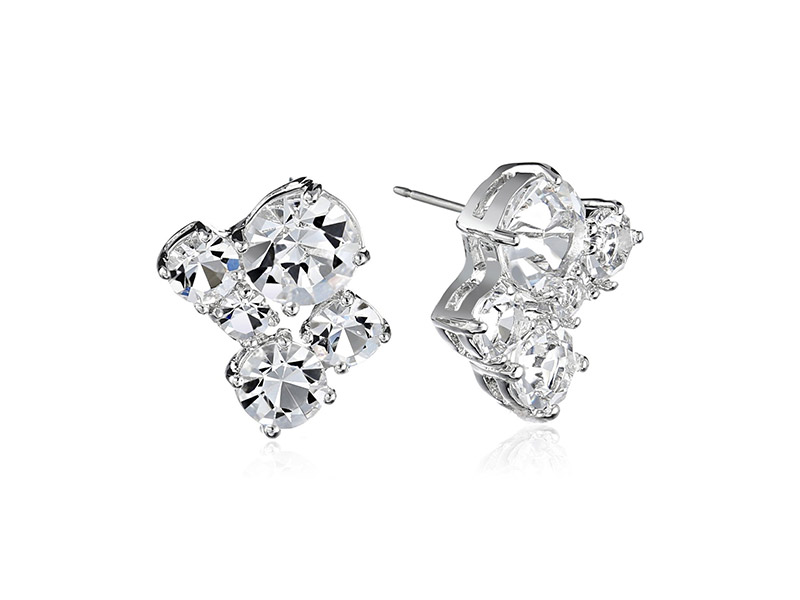kate spade new york Clink of Ice Cluster Stud Earrings
