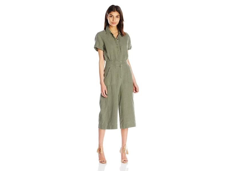 7 For All Mankind Women's Culotte Jumpsuit