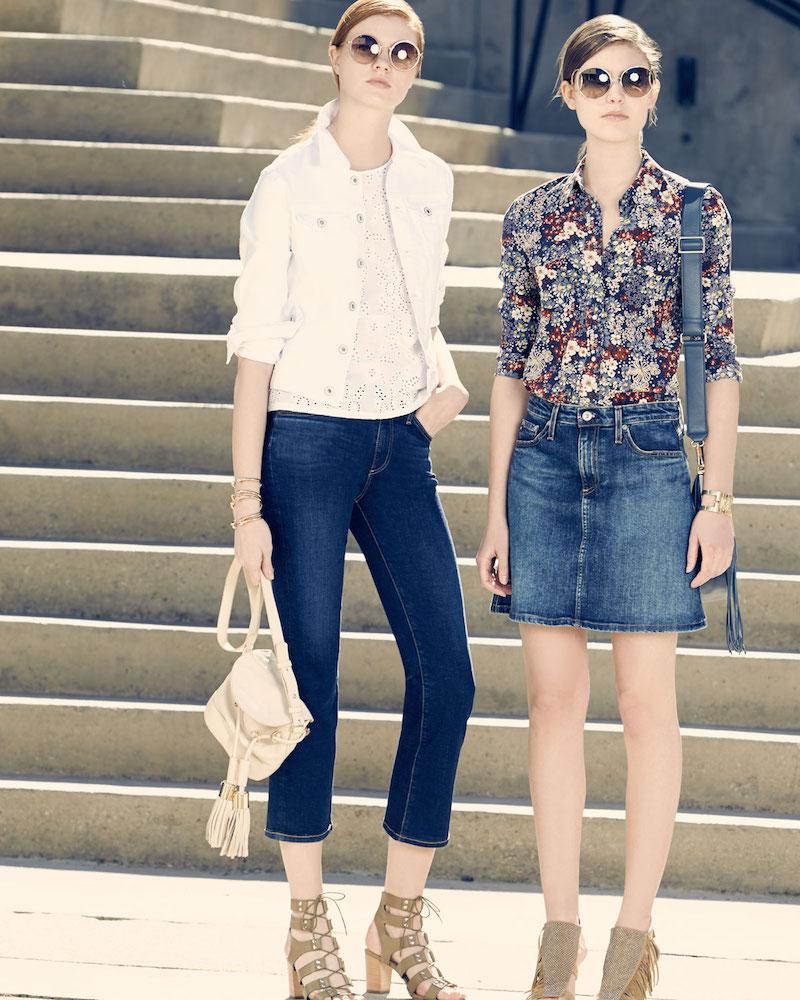 AG The Jodi Flare-Leg Cropped Jeans