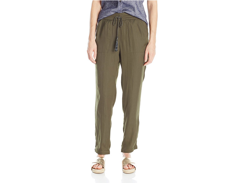 Adrianna Papell Soft Pant with Braided String