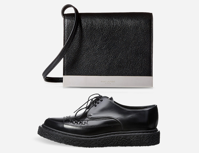 All in Black Designer Shoes & Bags at MyHabit