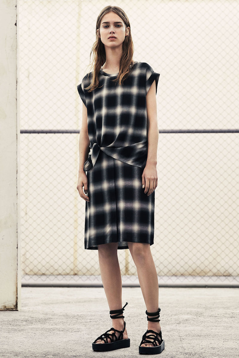 AllSaints Heny Check Dress