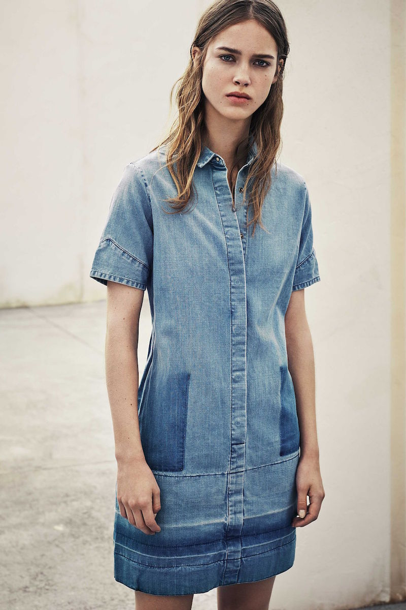 AllSaints June Denim Dress