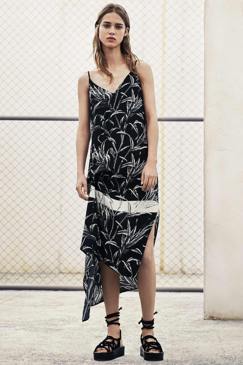AllSaints Leto Willow Dress