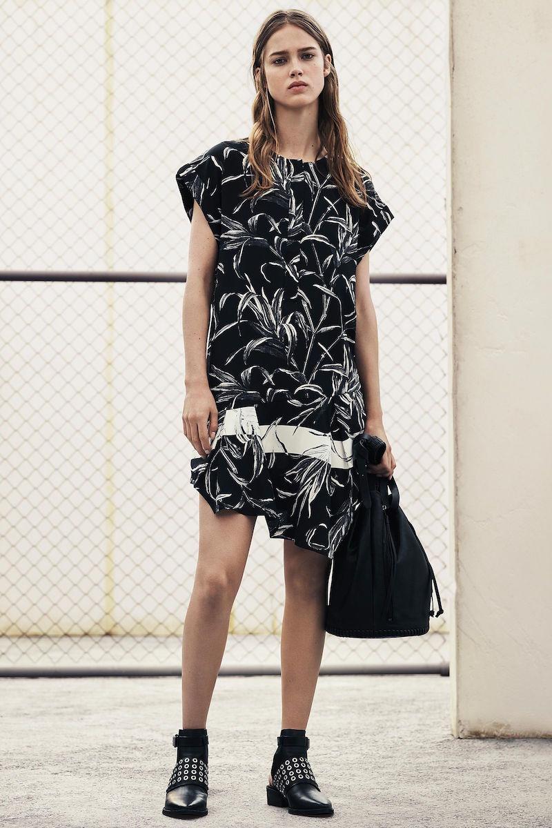 AllSaints Roka Willow Dress