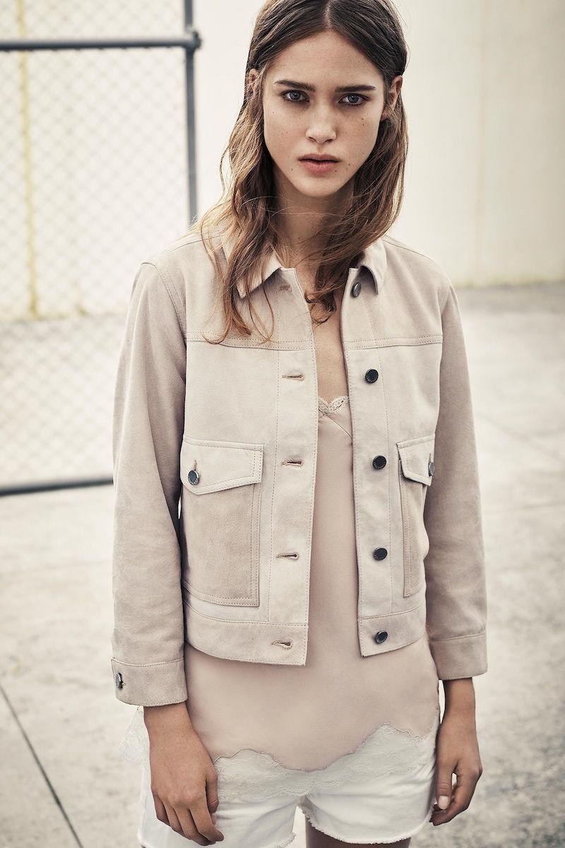 AllSaints Sykes Suede Jacket