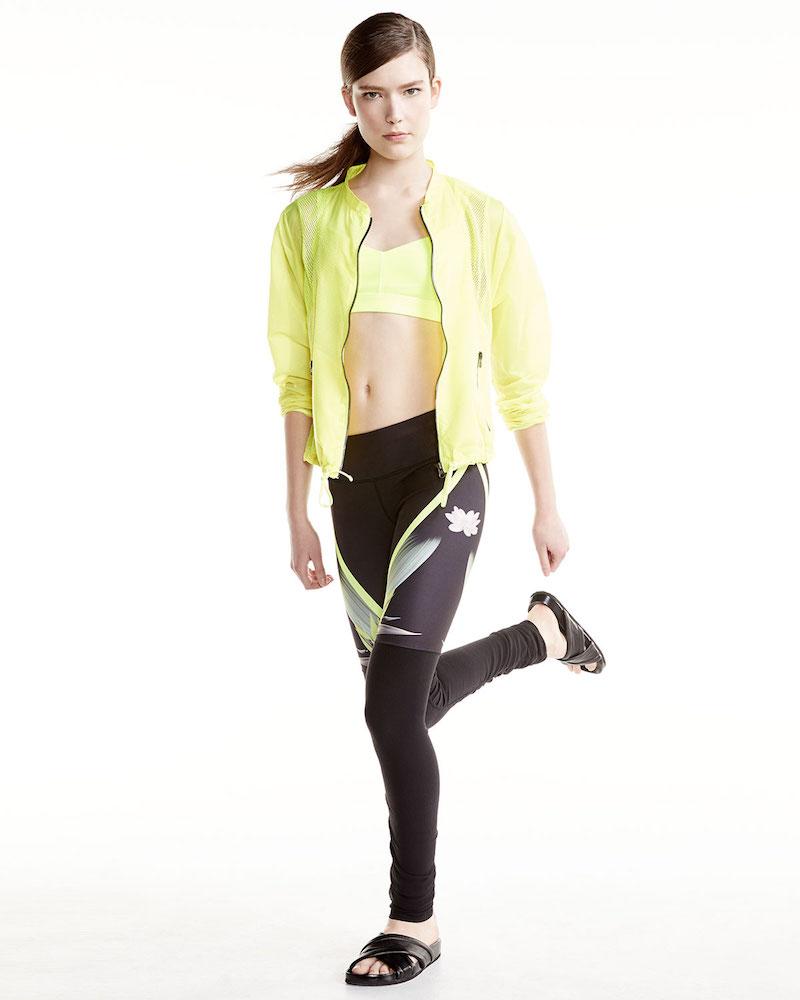 Alo Yoga Sunset Nylon Jacket W:Mesh Inset