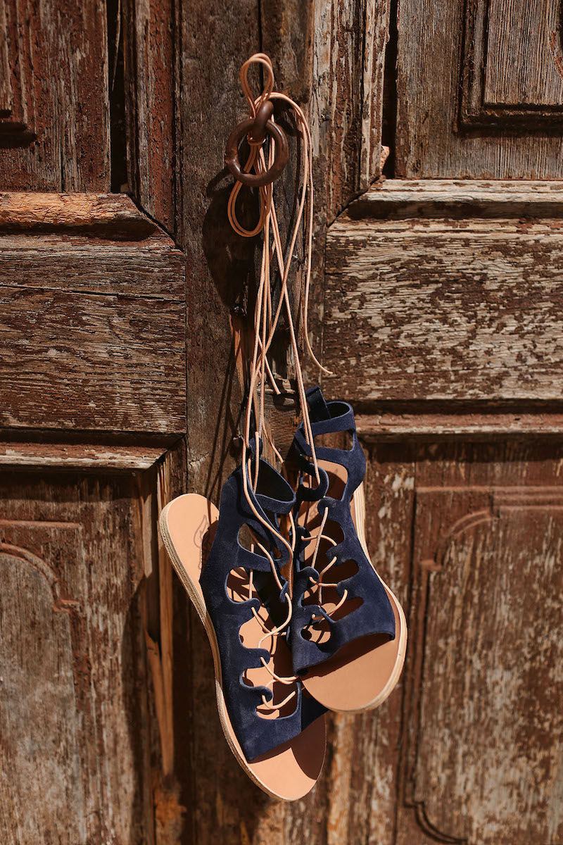 Ancient Greek Sandals Antigone Lace-Up Sandals