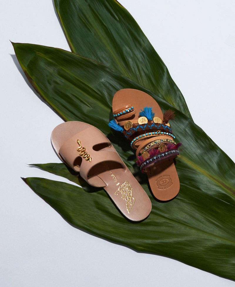 Ancient Greek Sandals X Ilias Lalaounis Estia leather sandals