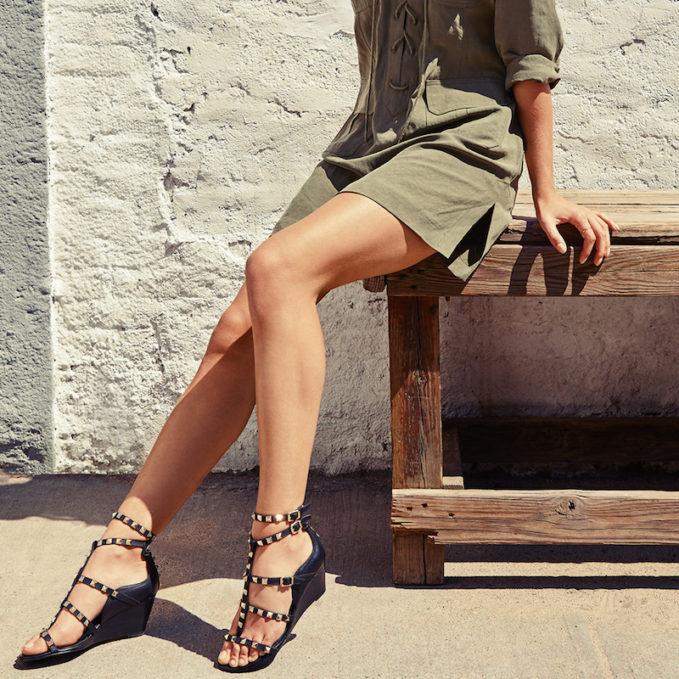 Ash Dafne Wedge Sandals
