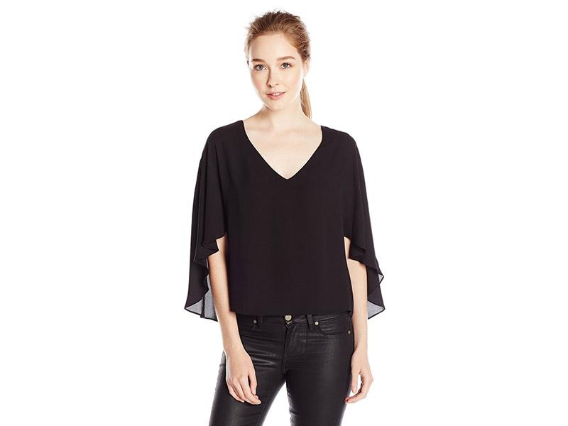 BCBGMAXAZRIA Shannah Woven Sportswear Top
