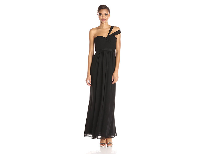 BCBGMax Azria Jamille Woven Evening Gown