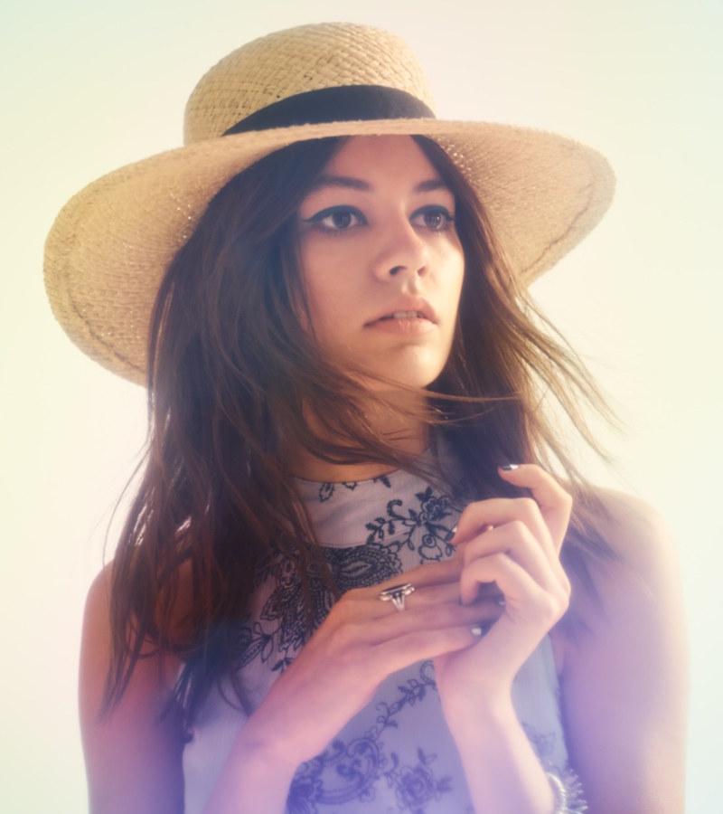 BP. Woven Raffia Boater Hat