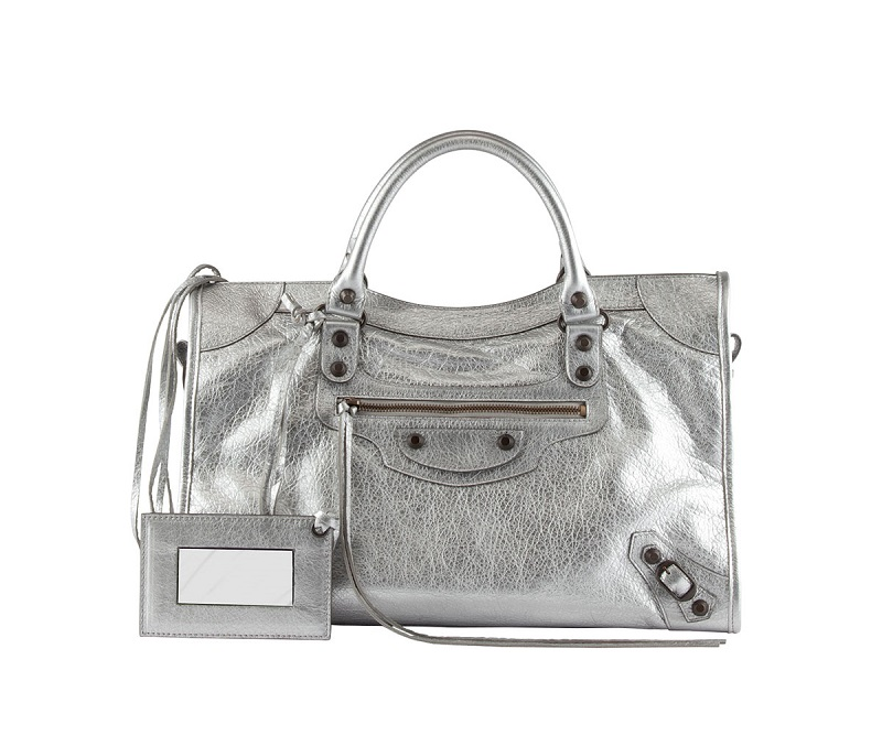 Balenciaga Classic Metallic City Bag