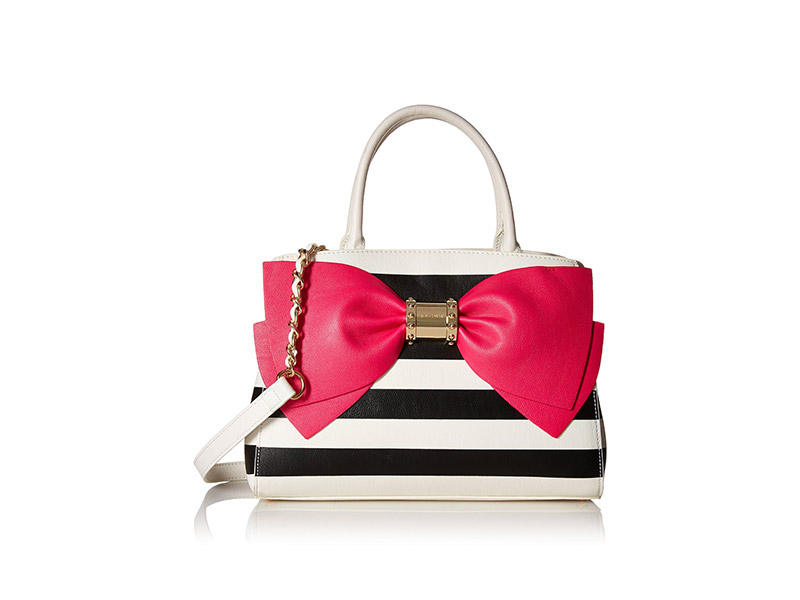 Betsey Johnson Ready Set Bow Satchel Bag