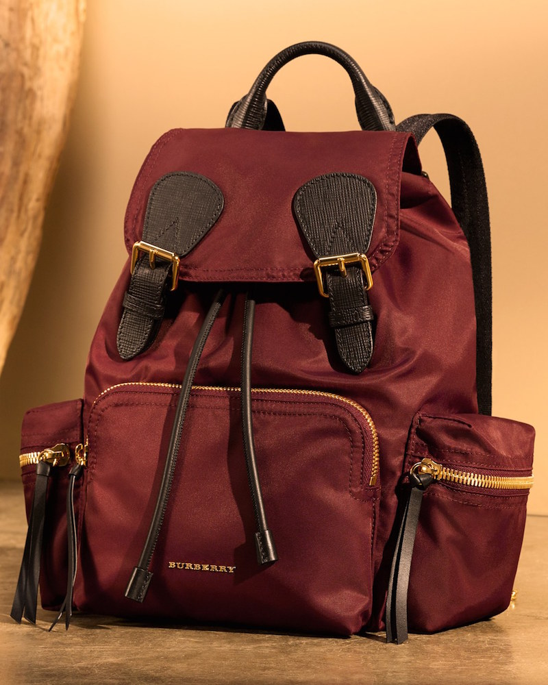 Burberry Medium Runway Rucksack Nylon Backpack