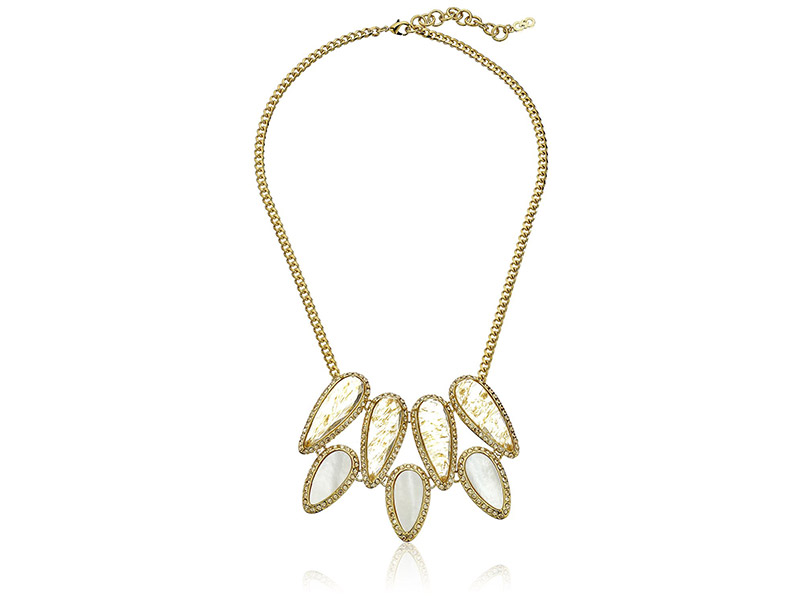 Cole Haan Golden Lights Drama Necklace