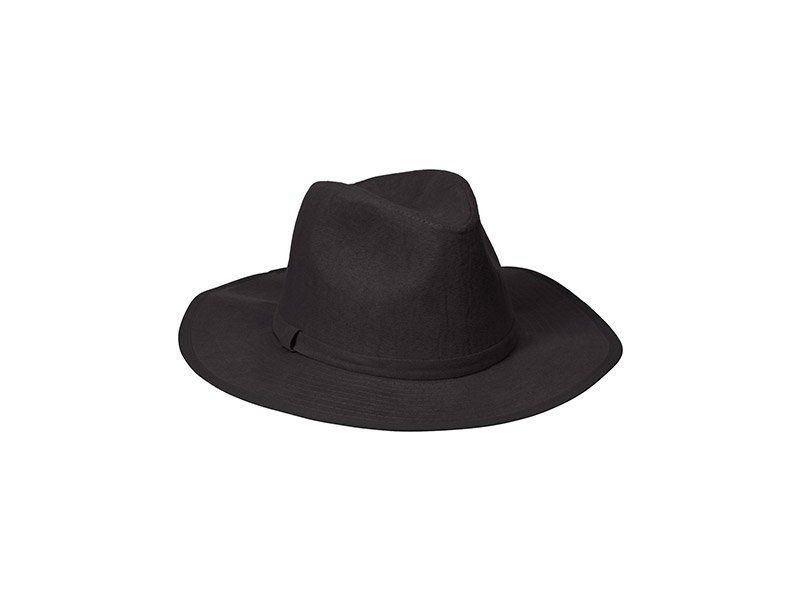 Collection XIIX Faux Suede Panama Hat