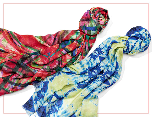 Color Pop Scarves at MyHabit