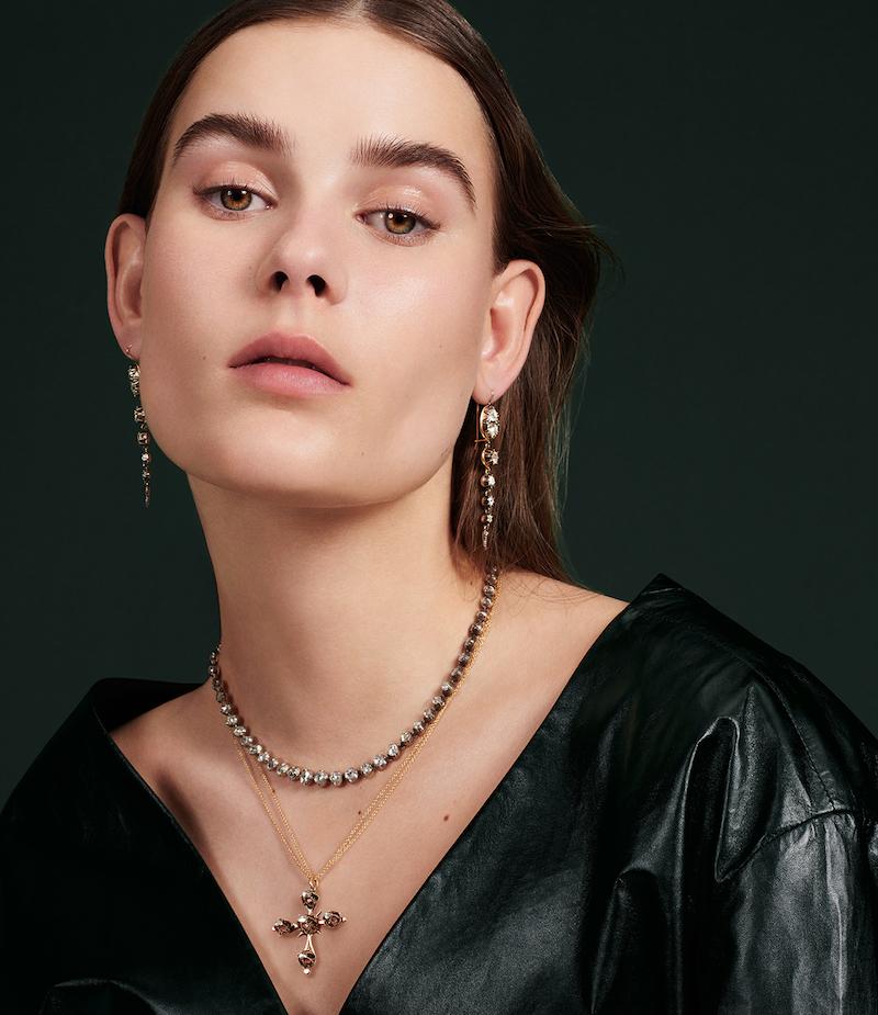 Renee Lewis Cross Pendant Necklace