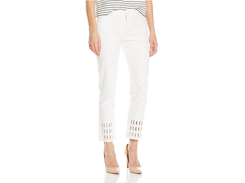 DL1961 Nettle High Rise Cropped Straight Jeans