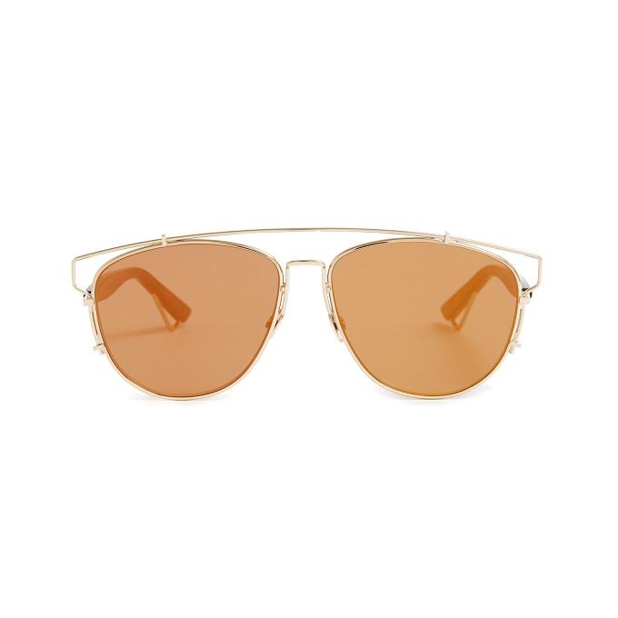 Dior Technologic mirrored sunglasses
