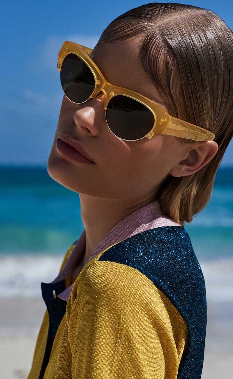 Dries Van Noten Cat-eye Sunglasses