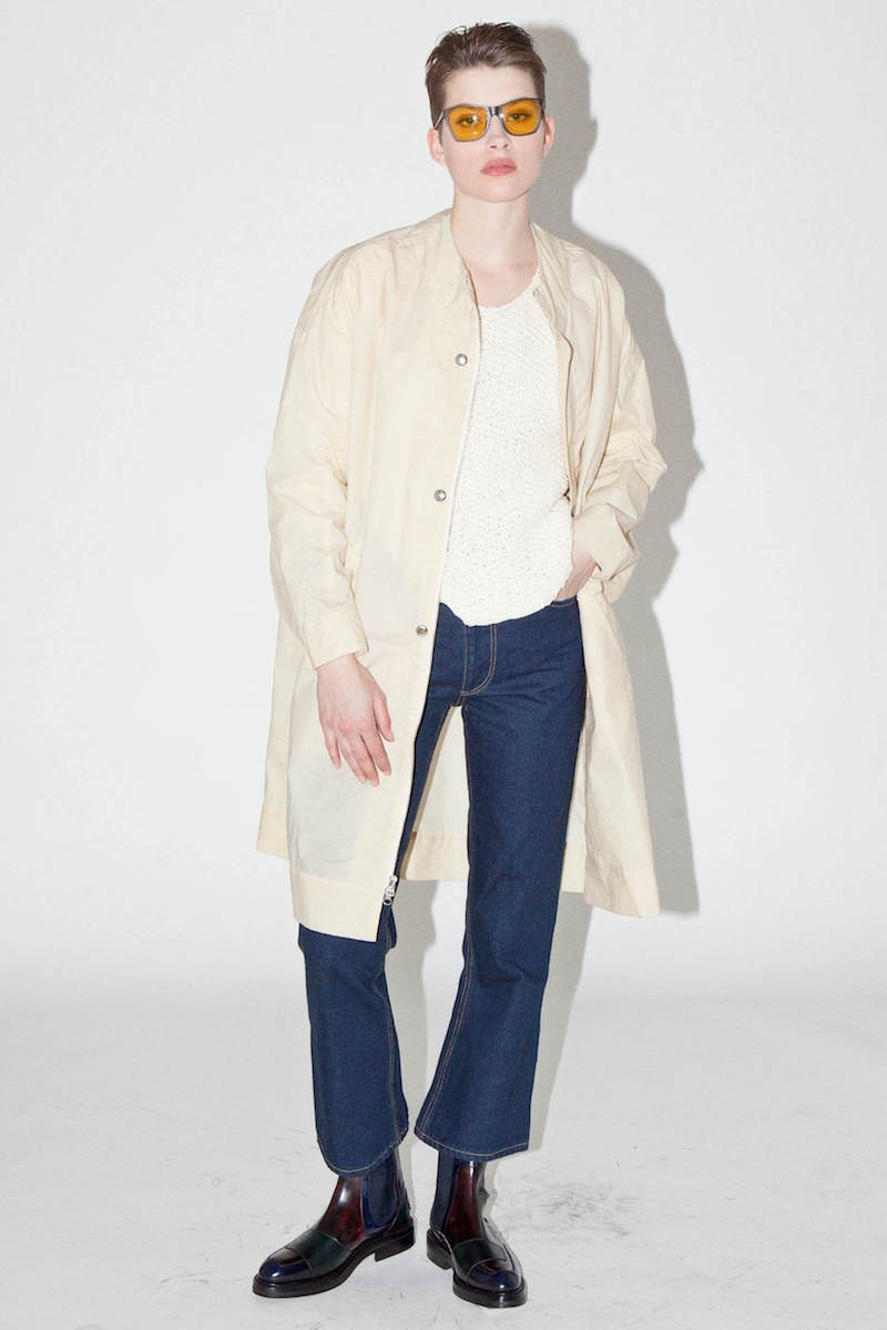 Eckhaus Latta El Denim Flared Jeans