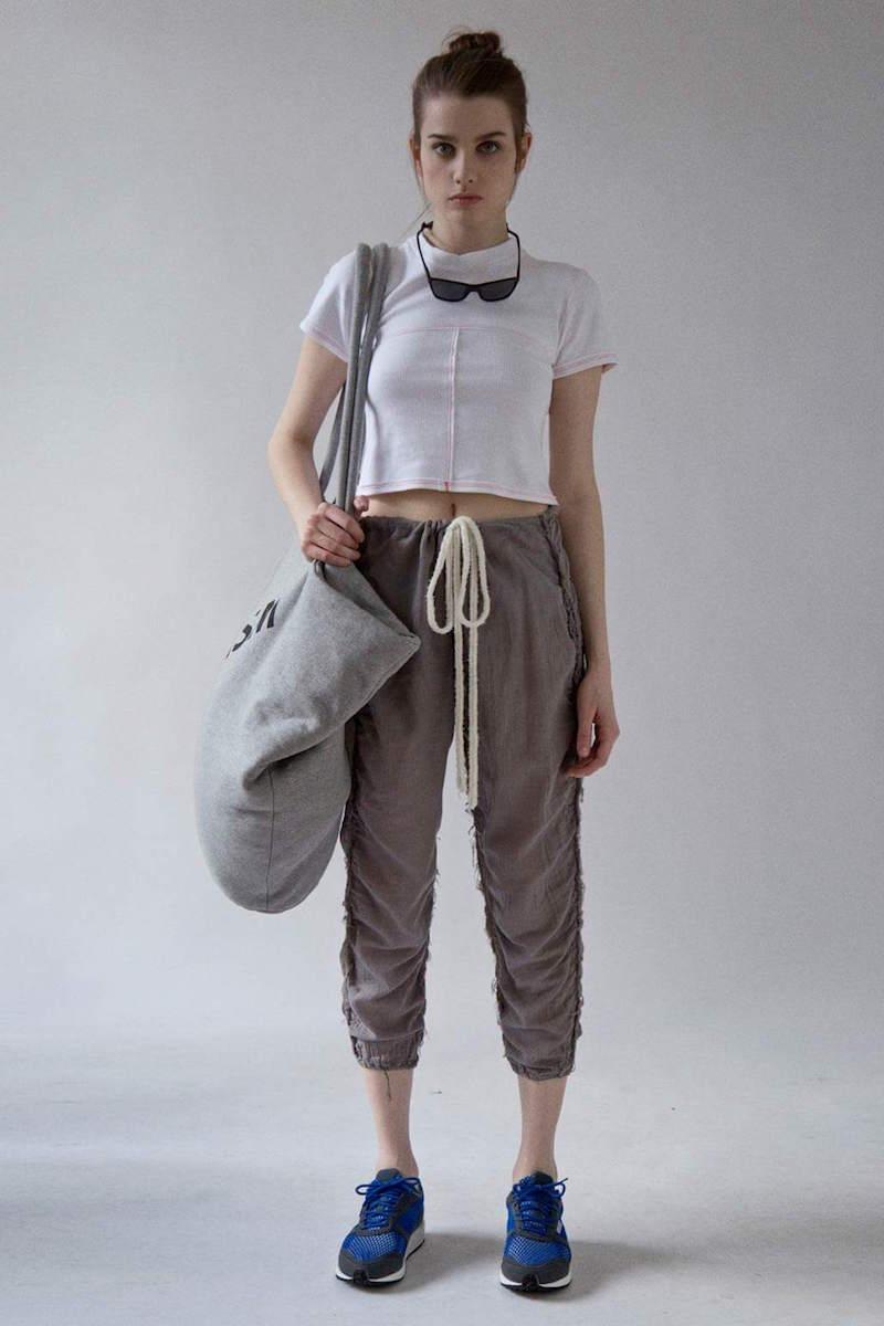 Eckhaus Latta Gauze Stitched Seam Pants