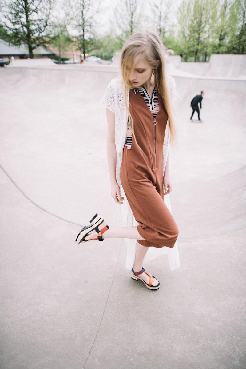 Eeight Valentina Chunky Heeled Sandals