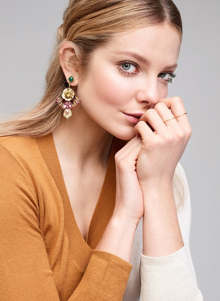 Elizabeth Cole Hannalee Earrings